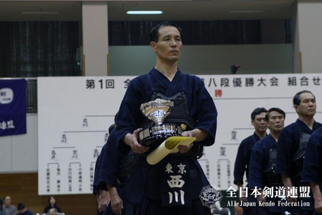 第1回大会優勝者:西川清紀選手