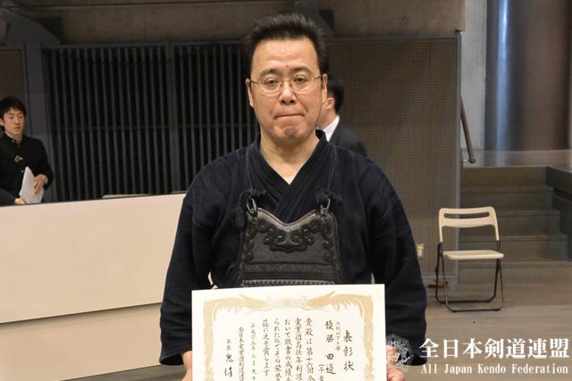 高壮年五段以下の部 優勝:田邊 勉選手(千葉銀行)